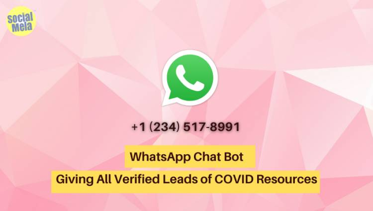 Everything About WhatsApp Chat Bot Which Is Giving Verified Leads About COVID 19 Resources Across India
